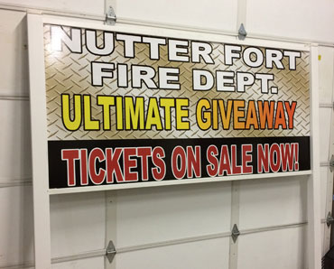 Nutter fort fire department sign