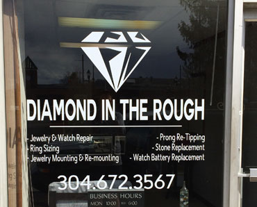 Vinyl Door Lettering for business